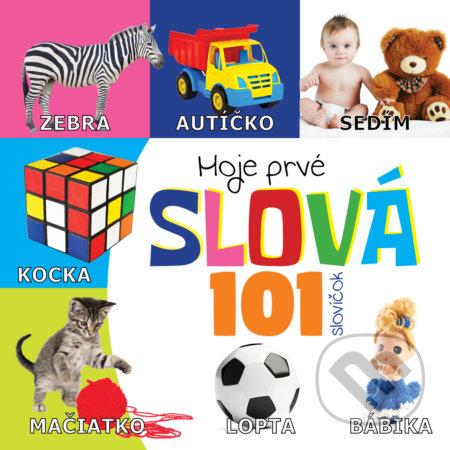 Moje prvé slová 101 slovíčok - Boris Kováč - Btapress