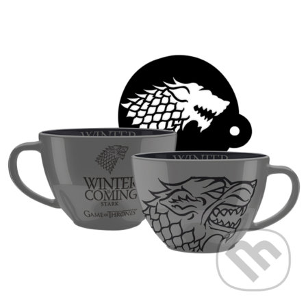 Hrnček  Game of Thrones - Stark cappuccino -