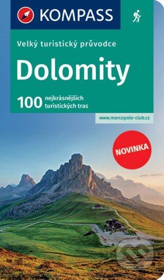 Velký turistický průvodce - Dolomity - Marco Polo