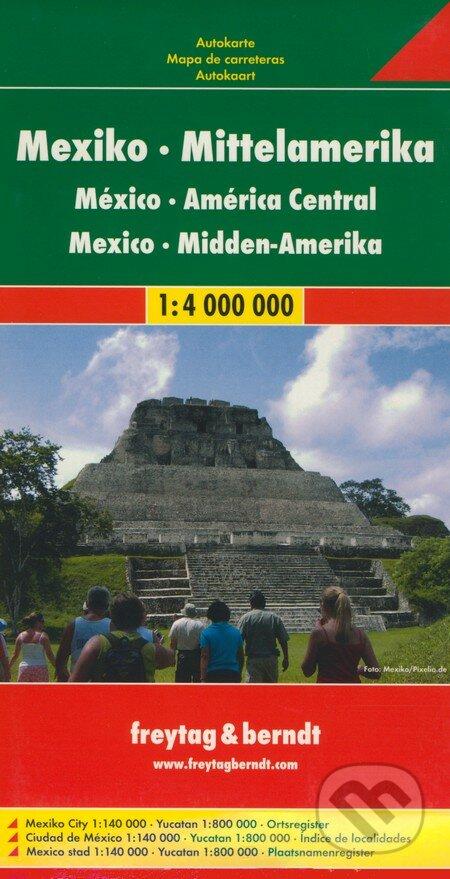 Fatimma.cz Mexiko, Stredná Amerika 1:4 000 000 Image