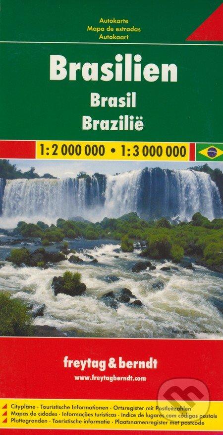 Venirsincontro.it Brasilien 1:2 000 000 - 1:3 000 000 Image