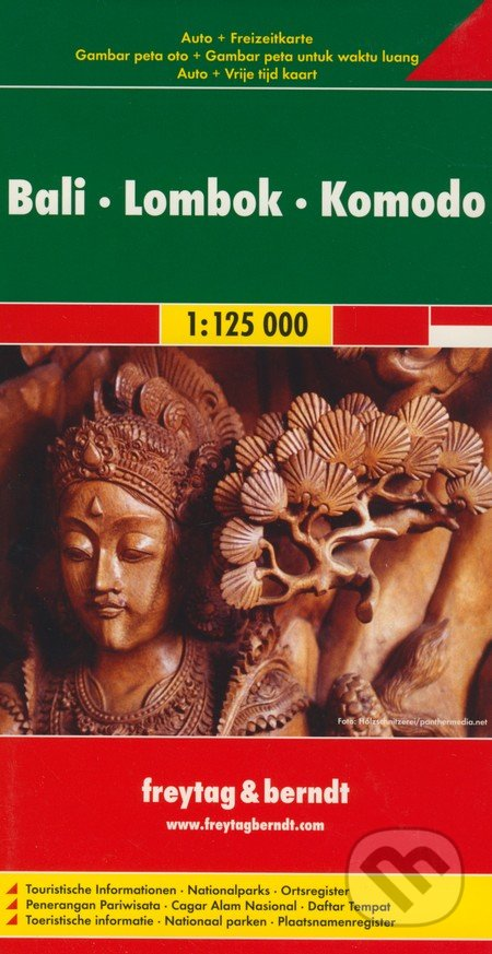 Venirsincontro.it Bali, Lombok, Komodo 1:125 000 Image
