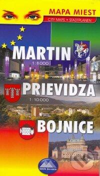 Fatimma.cz Martin 1:8000, Prievidza 1:10 000, Bojnice Image
