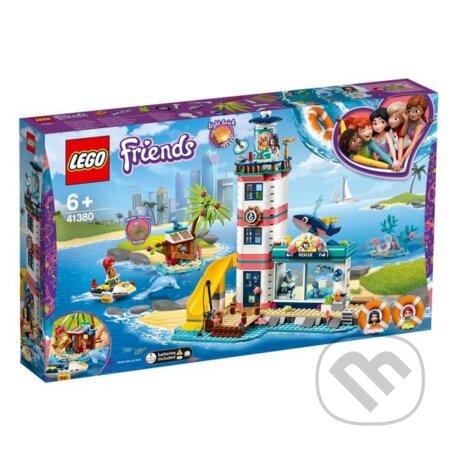 Záchranné centrum pri majáku - LEGO