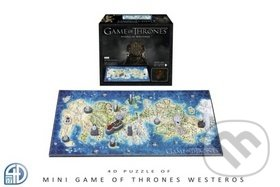 4D Hra o Trůny (Game of Thrones) Westeros MINI - ConQuest