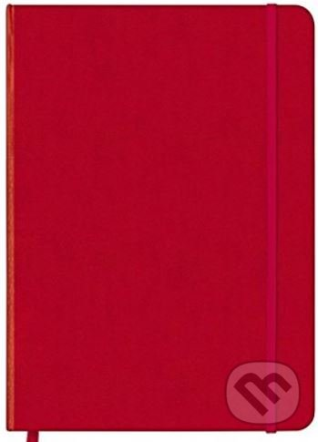 Red/Argyle Coolnotes Journal -