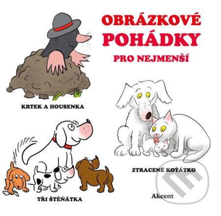 Obrázkové pohádky pro nejmenší - Drahomír Rybníček