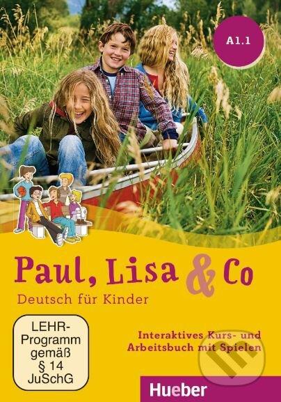 Paul, Lisa & Co A1.1: Interaktives Kurs- und Arbeitsbuch mit Spielen (DVD-ROM) - Monika Bovermann, Manuela Georgiakaki, Renate Zschärlich