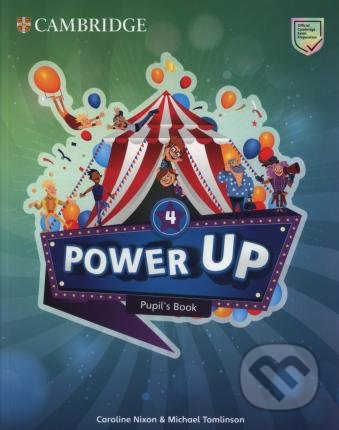 Power Up Level 4 - Pupil´s Book - Caroline Nixon