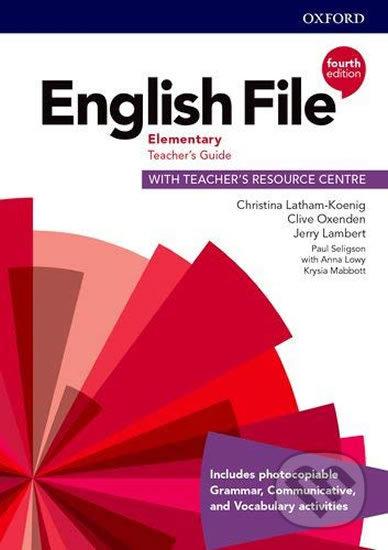 New English File - Elementary - Teacher's Book - Clive Oxenden Christina; Latham-Koenig