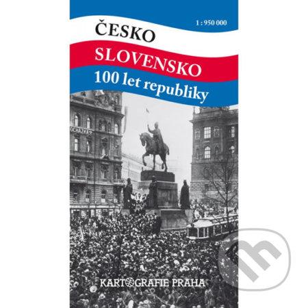 Siracusalife.it Česko Slovensko 100 let republiky 1:950 000 Image