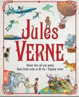 Dvacet tisíc mil pod mořem, Cesta kolem světa za 80 dní, Tajuplný ostrov - Jules Verne