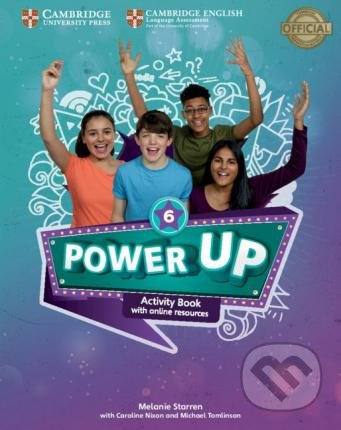 Power Up Level 6 - Activity Book - Melanie Starren