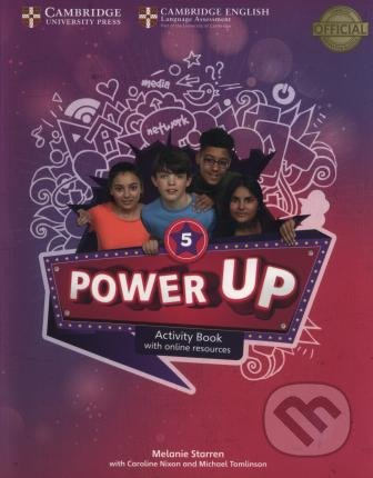 Power Up Level 5 - Activity Book - Melanie Starren
