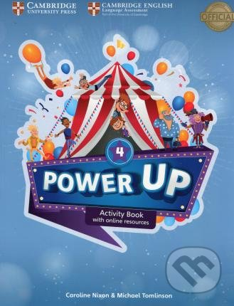 Power Up Level 4 - Activity Book - Caroline Nixon