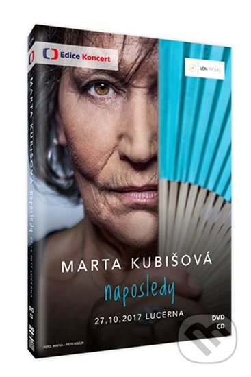 Marta Kubišová Naposledy DVD