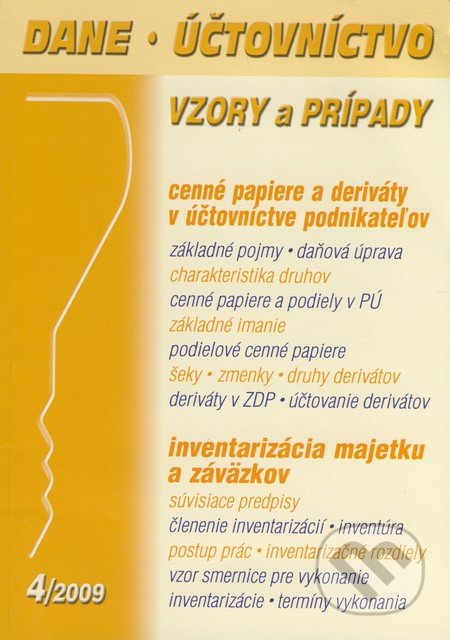 Fatimma.cz Dane, účtovníctvo 4/2009 Image