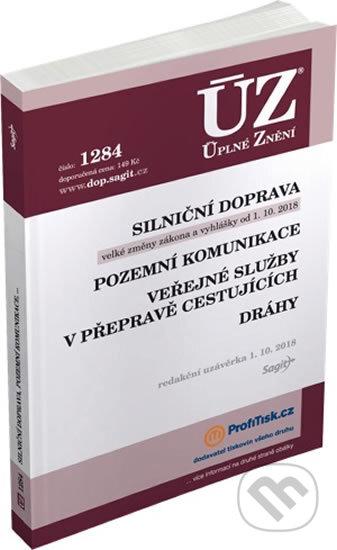 Fatimma.cz ÚZ č. 1284 - Silniční doprava, pozemní komunikace, veřejné služby v přepravě cestujících, dráhy Image