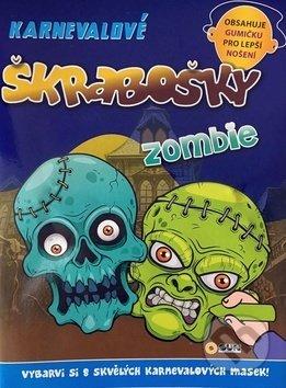 Karnevalové škrabošky - Zombie - SUN
