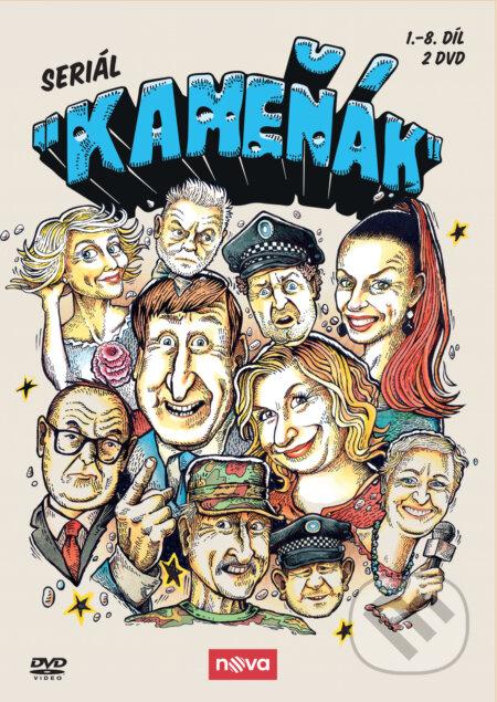 Kameňák seriál, 1. série DVD