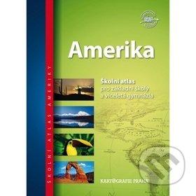Amerika - Kartografie Praha