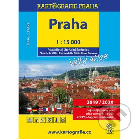 Interdrought2020.com Praha – Velký atlas, 1:15 000 Image