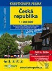Česká republika - autoatlas 1:200 000 (2015/2016) - Kartografie Praha