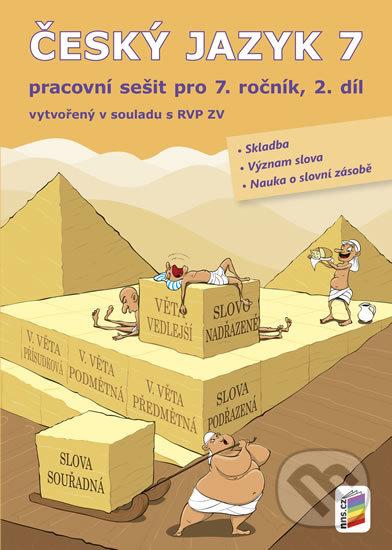 Bthestar.it Český jazyk 7, 2. díl (pracovní sešit) Image