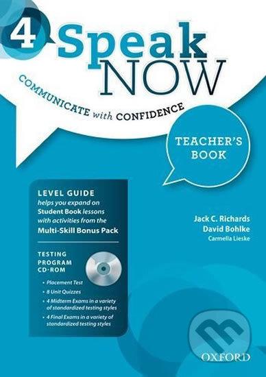 Speak Now 4 - Teacher's Book - Jack C. Richards