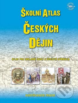 Školní atlas českých dějin - Kartografie Praha
