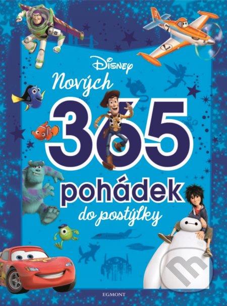 Disney Pixar: Nových 365 pohádek do postýlky - Egmont ČR