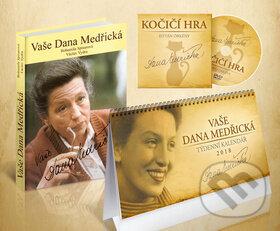 Fatimma.cz Komplet 3ks Vaše Dana Medřická + DVD + kalendář 2018 Image