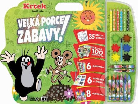 Fatimma.cz Krtek: Mega omalovánkový set Image