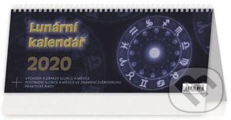 Lunární kalendář 2020 - stolní kalendář - Helma365