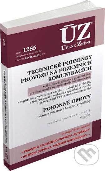 Fatimma.cz ÚZ 1285: Technické podmínky provozu na pozemních komunikacích, Pohonné hmoty Image