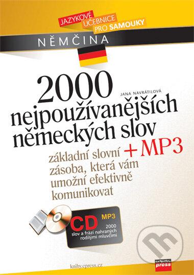 Peticenemocnicesusice.cz 2000 nejpoužívanějších německých slov + CD MP3 Image