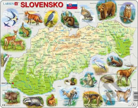 Slovensko (všeobecnozemepisné) - Larsen