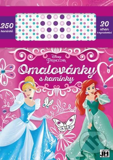 Disney Princezna: Omalovánky s kamínky - Jiří Models