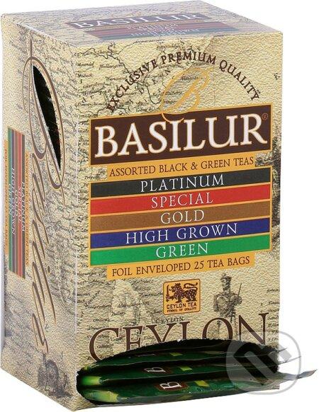 BASILUR Island of Tea Assorted přebal - Bio - Racio