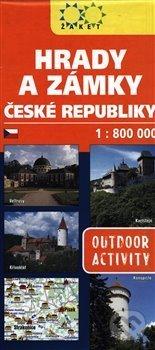 Fatimma.cz Hrady a zámky České republiky - 1:800 000 Image