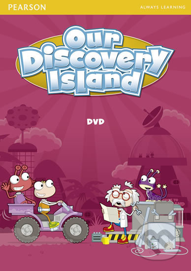 Our Discovery Island 2 DVD - Pearson