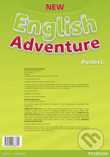 New English Adventure 1 - Posters - Anne Worrall