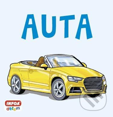 Čtvercové leporelo: Auta - INFOA