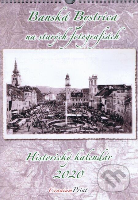 Banská Bystrica na starých fotografiách 2020 - nástenný kalendár - Cranium Computer
