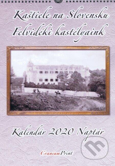Kaštiele na Slovensku 2020 - nástenný kalendár - Cranium Computer