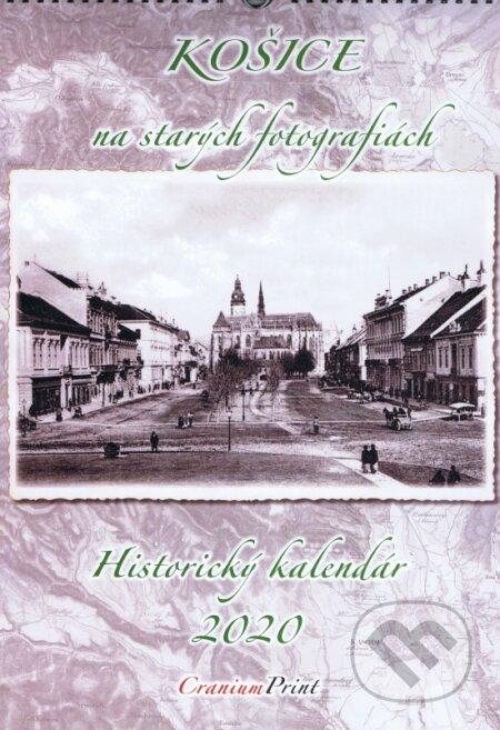 Košice na starých fotografiách 2020 - nástenný kalendár - Cranium Computer