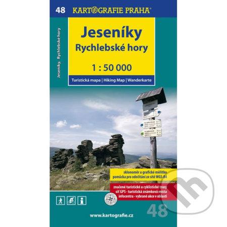 Interdrought2020.com Jeseníky, Rychlebské hory 1:50 000 Image