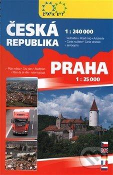 Autoatlas ČR + Praha - Žaket