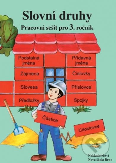 Fatimma.cz Slovní druhy - pracovní sešit pro 3. ročník Image