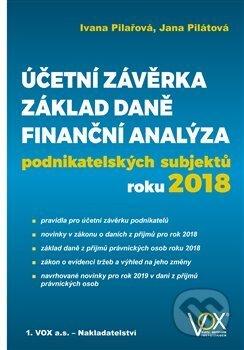 Účetní závěrka, Základ daně, Finanční analýza - Ivana Pilařová